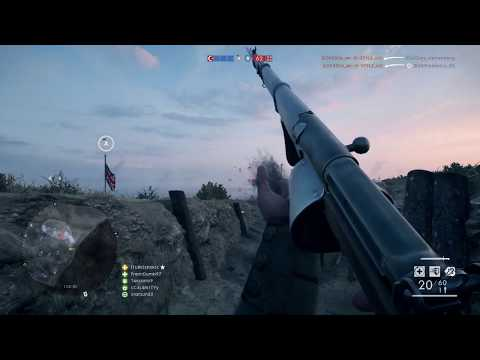 BATTLEFIELD 1 best aim shooter shnkrc medic class 30-5 killstreak