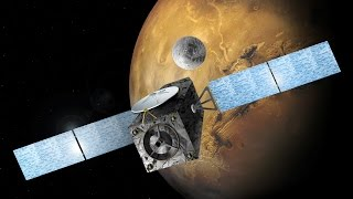 European spacecraft touches down on Mars