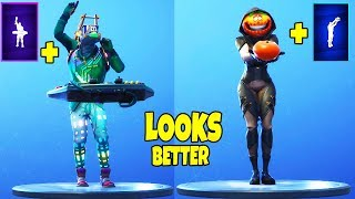 FORTNITE DANCES LOOK BETTER WITH THESE SKINS..! ( Looks & Sound Better )