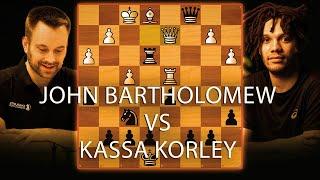 Live Blitz Chess: IM Kassa Korley vs. IM Bartholomew