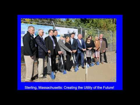 Webinar: Energy Storage in Sterling: A Massachusetts Municipal Microgrid (10.25.2016)
