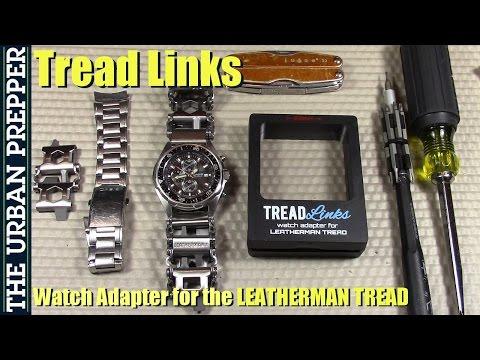 TreadLinks: Leatherman Tread Watch Band Adapter