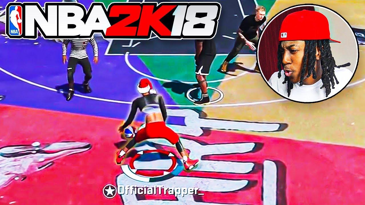 NBA 2k18 PARK 1416 DAYS LATER..