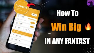 How to win Huge Money in Dream11, My11Circle & other Fantasy Apps 🤑🤑💸💸