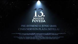 """Pre-estreno documental """"13. Miguel Poveda"""". Spot"""
