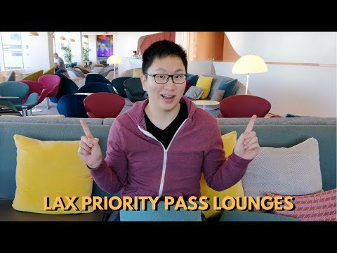Reviewing EVERY Priority Pass Lounge At LAX (Alaska, KAL, VS)