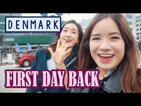 First Day Back in Denmark | Tivoli & Pedestrian Street ft. Bambigirl