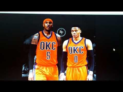 Carmelo Anthony traded to OKC Reaction