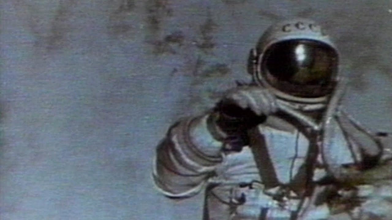 The First Spacewalk - YouTube