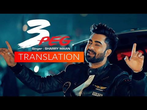 3 Peg | Sharry Mann | Translation | English | German | Latest Punjabi Songs 2016
