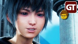 Thumbnail für Design top, Technik naja | FINAL FANTASY 15: PLATINUM DEMO bei »Hey Fritz, spiel mal...« | Gameplay