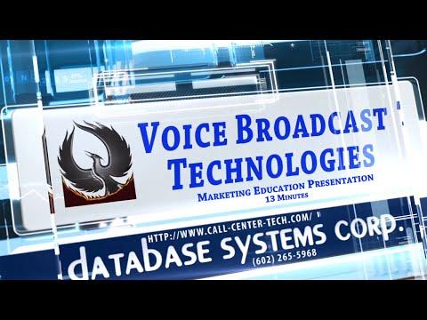 Voice Broadcasting Presentation