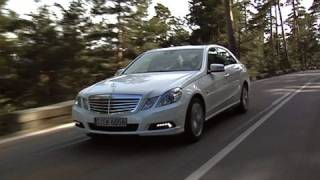 Mercedes E-klasse roadtest (English subtitled)