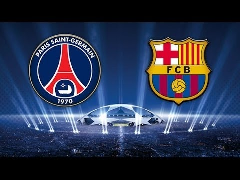 PSG 1 – 3 Barcelona (Champions League Highlights)
