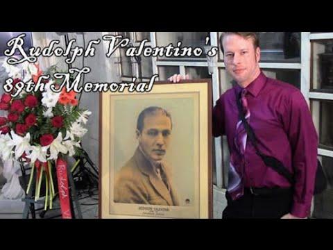 DonnySpielberg presents RUDOLPH VALENTINO'S 89TH MEMORIAL