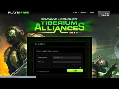 Command & Conquer: Tiberium Alliances - Redeem Codes - Closed Beta Key [NOW IS OPEN BETA]