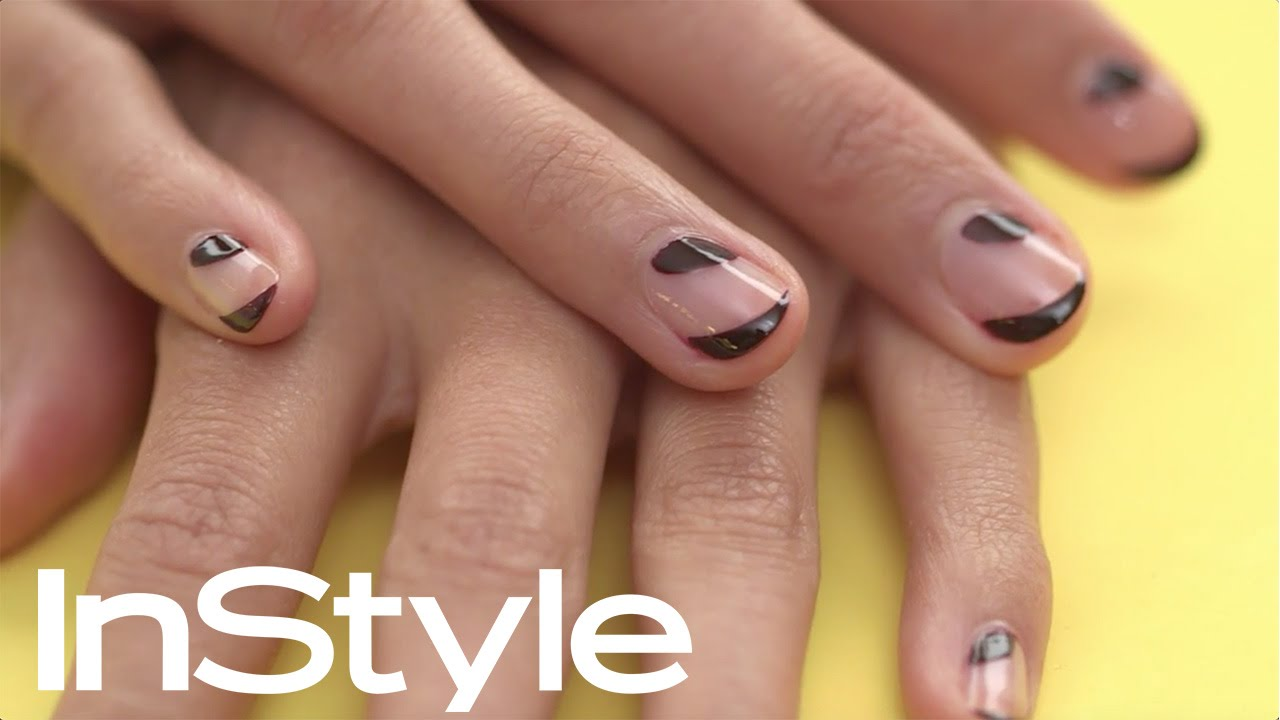 Diy How To Get Wicked Borders Nail Art I Instyle Youtube
