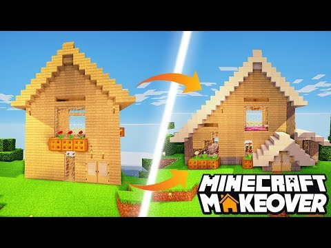 AND WE ARE BACK! - Minecraft Makeover -...