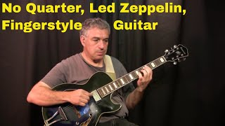 No Quarter, Led Zeppelin, fingerstyle guitar, Jake Reichbart