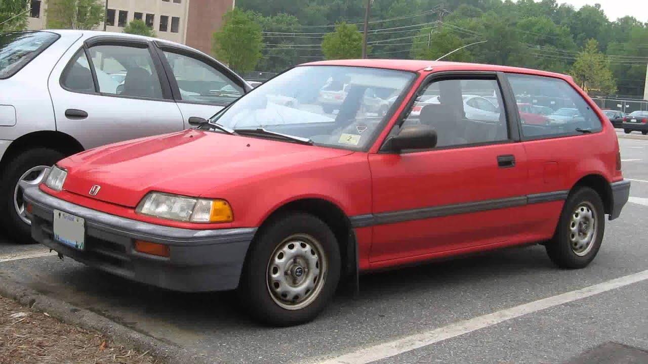 1990 Honda Civic Wagon Youtube