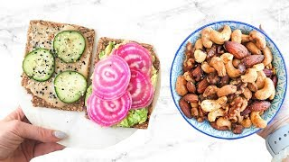 10 HEALTHY SNACK IDEAS YOU NEED TO TRY! EASY RECIPES!