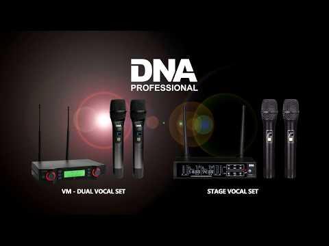 DNA Stage Vocal Set & DNA VM - Dual Vocal Set – podwójny zestaw do ręki mp3