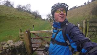 Beech Croft Farm Ride, March 18th 2017 GoPro HD MTB Buxton