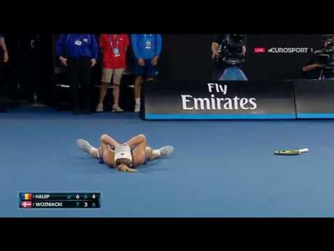caroline wozniacki wins Australian Open 2018