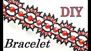 Шикарный Браслет из Бисера и Ронделей Мастер Класс/ Beebeecraft/ Bead Bracelet!