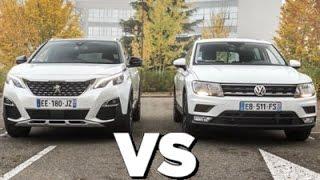 Peugeot 3008 VS volkswagen Tiguan Comparatif HD Design, Prix, moteurs | AUTOREDUC TV