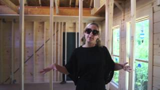 Log Home Build: Build-isode #8: Jocassee 3
