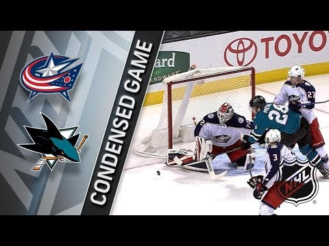 Columbus Blue Jackets vs San Jose Sharks – Mar. 04, 2018 | Game Highlights | NHL 2017/18. Обзор