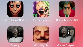hello neighbor granny fgteev mod horror game gameplay youtube gaming minecraft family roblox in real