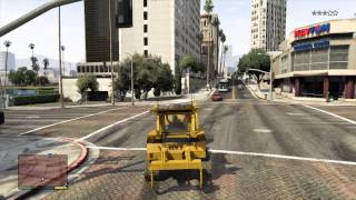 GTA V - Bulldozer