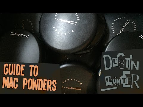 Guide to MAC Powders