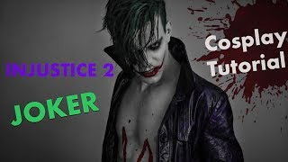 Joker Makeup Tutorial by Broseph David (Injustice 2)