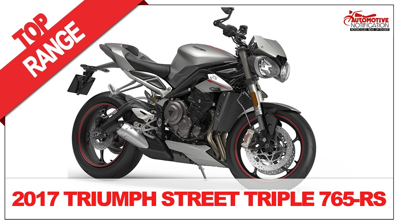 2017 triumph street triple 765 rs price and review youtube. Black Bedroom Furniture Sets. Home Design Ideas