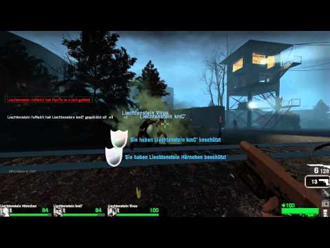 Left 4 Dead Cupmatch - Team Jerks vs. Team Liechtenstein - Death Toll and Dead Air (German)