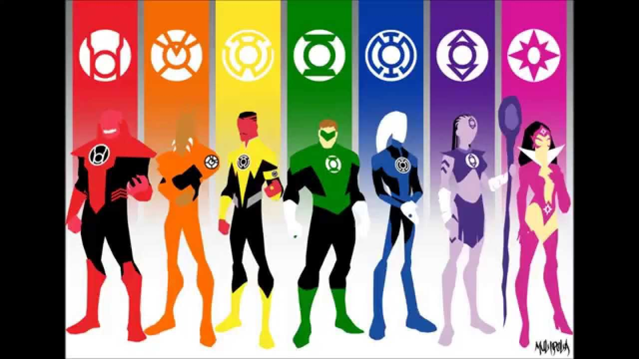 marvel characters in the lantern corps youtube