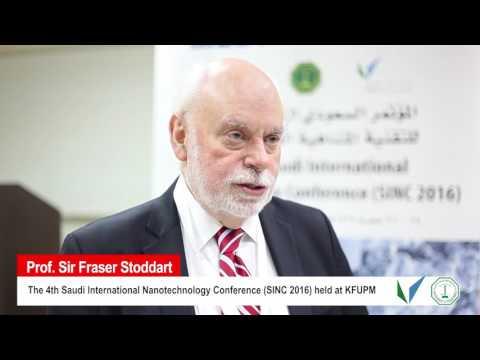 Dr Frazer Stoddart 2016 Chemistry Nobel Laureate - part 1