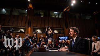 Highlights from the chaotic first day of Brett Kavanaugh's confirmation hearing