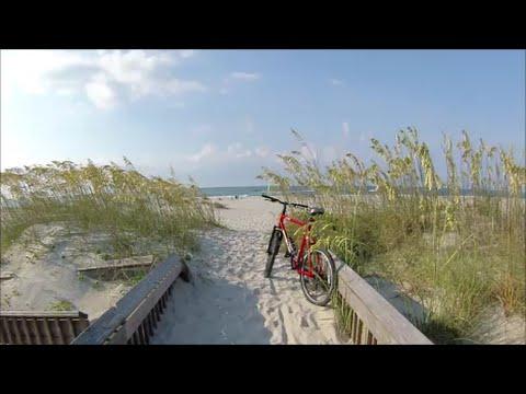 Biking Emerald Isle Beach, North Carolina Bike Paths -  July 23, 2016