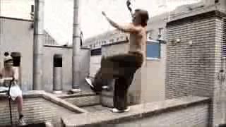 Amazing stuntman