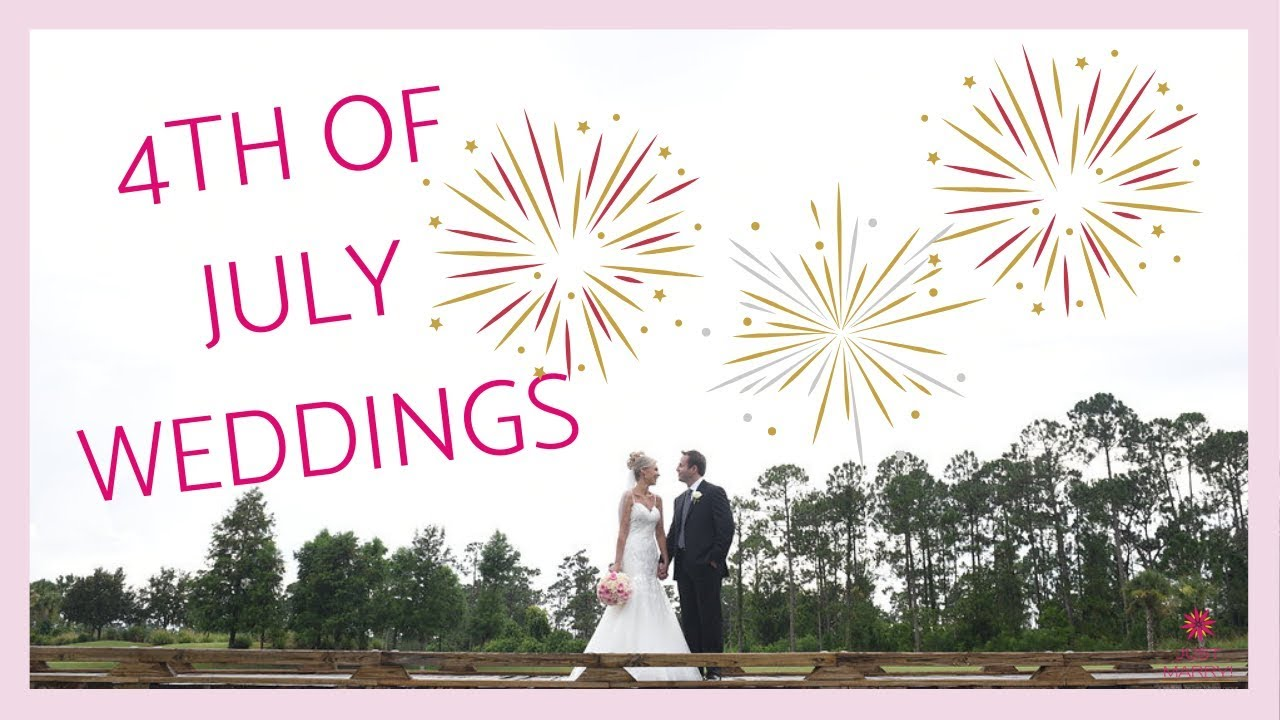 summer wedding themes how to plan a 4th of july wedding
