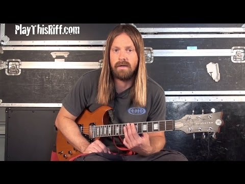 "New FU MANCHU ""Anxiety Reducer"" Guitar Lesson Video For PlayThisRiff.com"