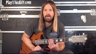 """New FU MANCHU """"Anxiety Reducer"""" guitar lesson video for PlayThisRiff.com"""