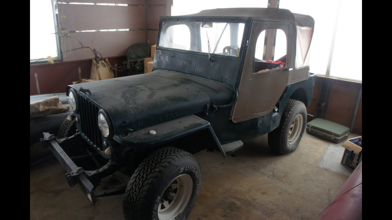 1948 jeep willys project for sale youtube. Black Bedroom Furniture Sets. Home Design Ideas