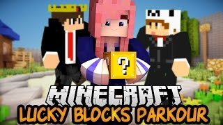 Easy Peasy?! | Ep. 1 | Lucky Block Parkour PVP Map