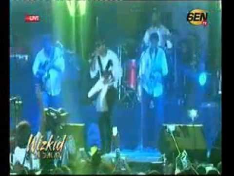 Le concert de Wizkid à Dakar