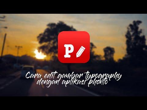 Tutorial Cara Edit Gambar Typography Menggunakan Aplikasi Phonto Instastory Typography Android Youtube
